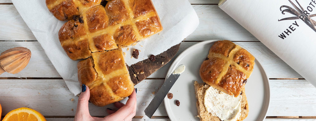 Hot Cross Buns per Pasqua
