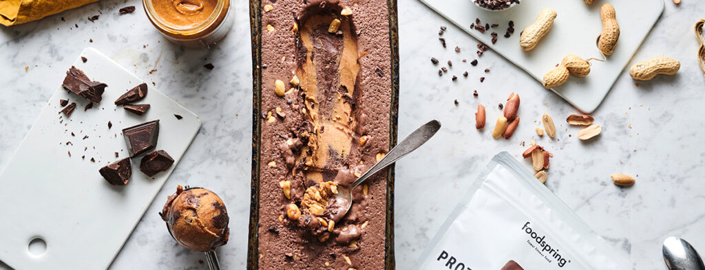 Protein Ice Cream Schoko-Erdnuss
